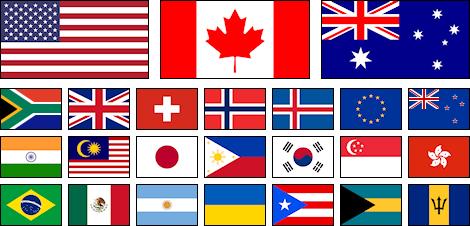 Winslips Countries